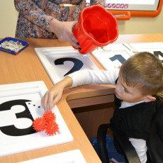 Опыт внедрения обучающего комплекса EduTouch в петергофском «Детском доме-интернате №1».